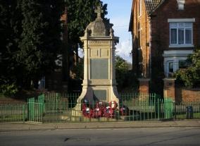 8. Finedon Cenotaph